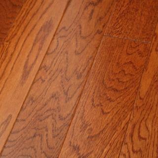 Oak Jefferson Gunstock 3/8 x 3-1/2 Engineered Hardwood Flooring