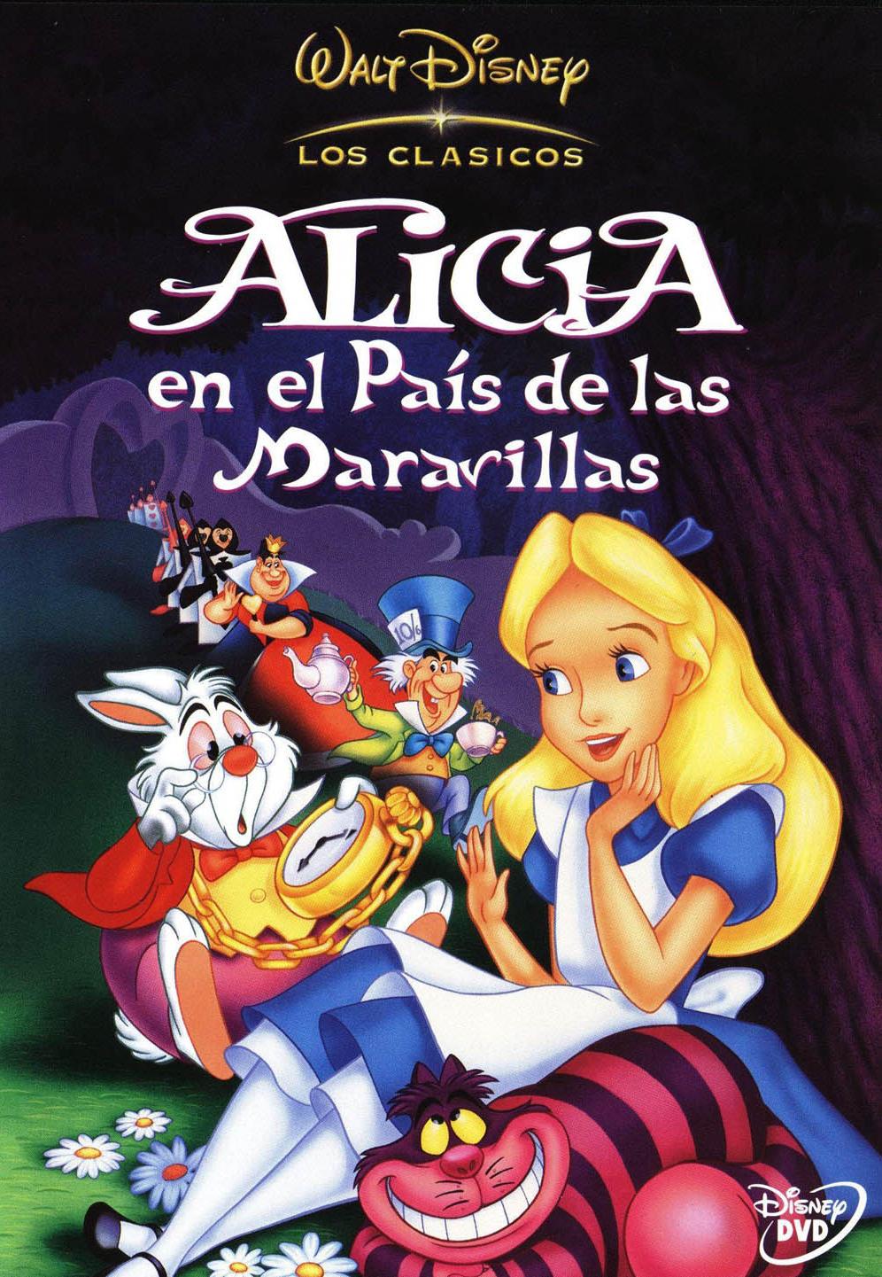 Alicia En El Pa S De Las Maravillas Lewis Carroll De Busqueda Disney Movie Posters Disney Movies To Watch Disney Movies