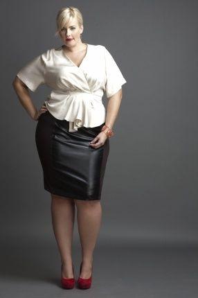 plus size leather skirt 10 #plus #plussize #curvy | Plus Size ...