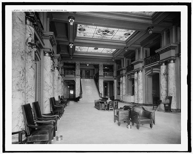 4a24464r Jpeg 640 509 Richmond Vintage Hotels Hotel Interiors