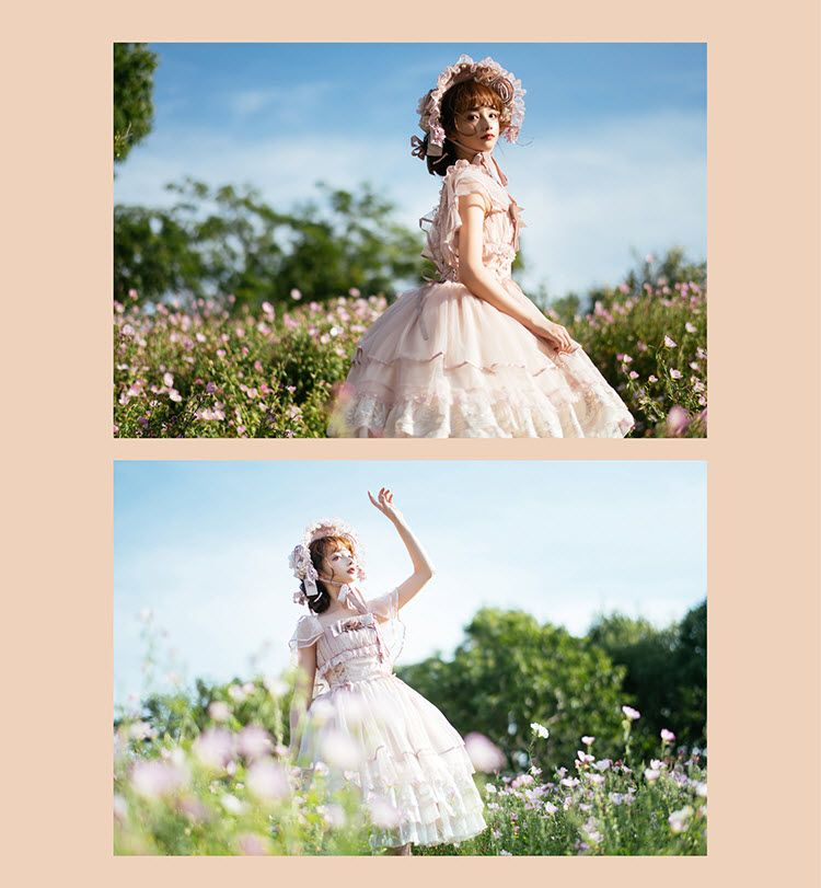 Miracles -Dolly Girl- Sweet Classic Lolita Jumper Dress