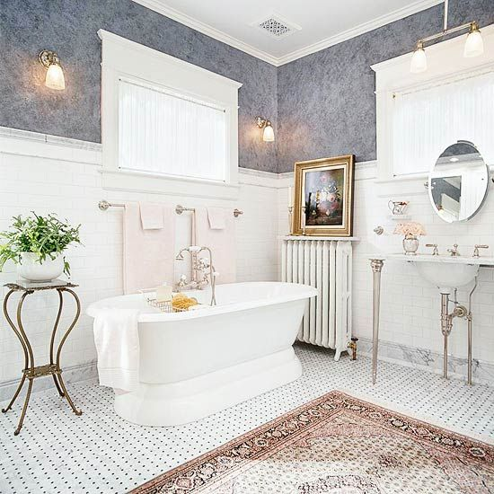 21 Gray Color Schemes That Beautifully Showcase The Timeless Neutral Victorian Style Bathroom Victorian Bathroom New Bathroom Designs