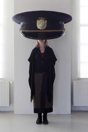 Erwin Wurm Police Cap Denmark 2011