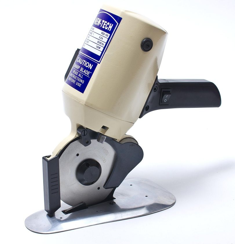 4 Electric Rotary Cutter With Easy Guide For Fabric More