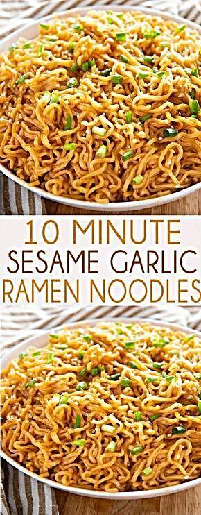 - Sesame Garlic Ramen Noodles Recipe | Staci Kitchen #noodles #dinner #dinnerrecipes #dinnerideas #f...