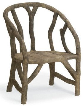 Arbor Chair - eclectic - chairs - Burke Decor - 1,240.00