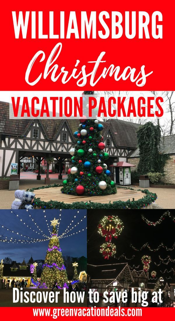 Save up to 26% on Williamsburg Christmas Vacation Packages ...