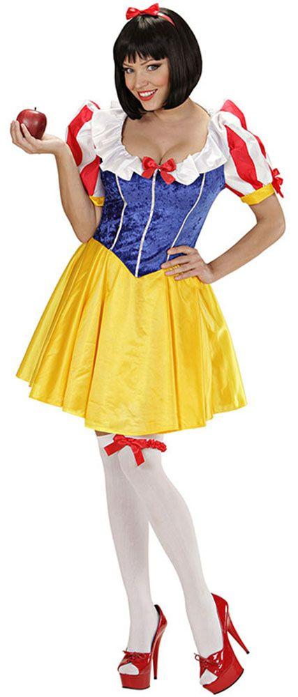 Disfraz de Blancanieves para mujer  2175a1ba45e3