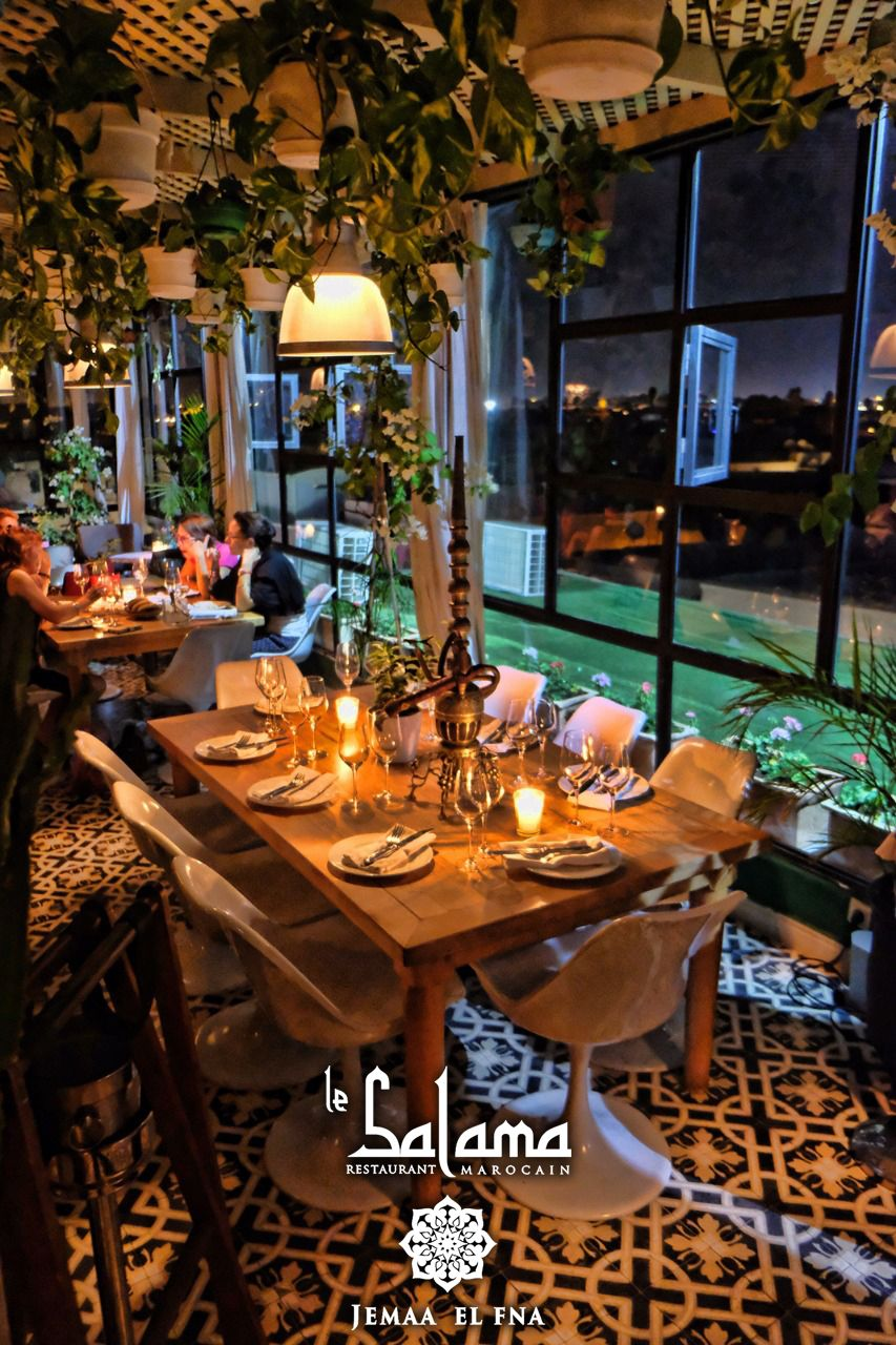 Image Du Tableau Le Salama Restaurant Bar Marrakech De Le