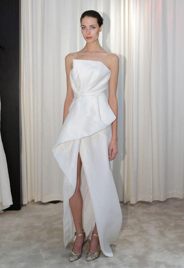 high slit wedding dressj. mendel | hottest dresses from new york
