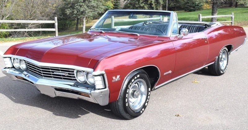 1967 Chevrolet Impala Ss396 Convertible Chevroletimpala1966