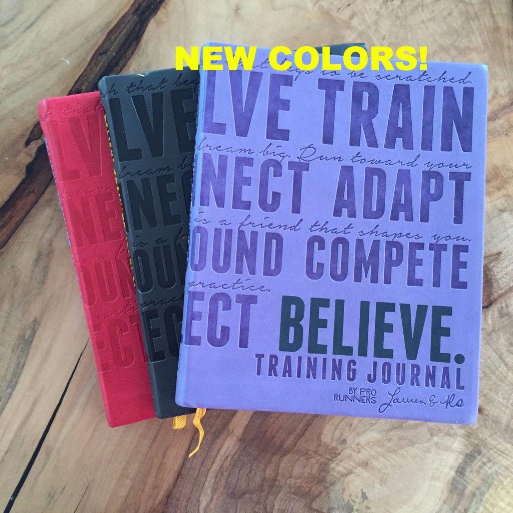 Believe Training Journal Red