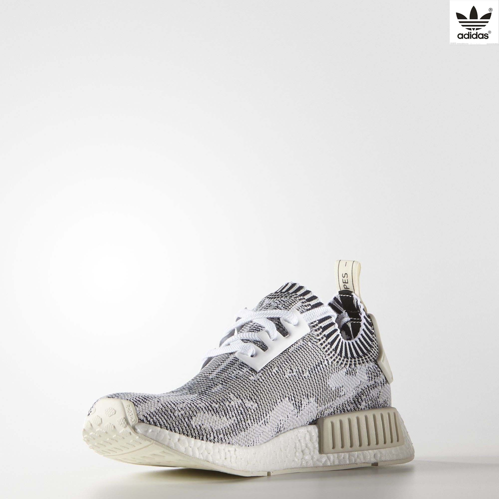ce4b882eb Adidas NMD R1 Primeknit White Camo - Mens Legend BlueClear OnyxWhite0 on  the lookout for limited offer