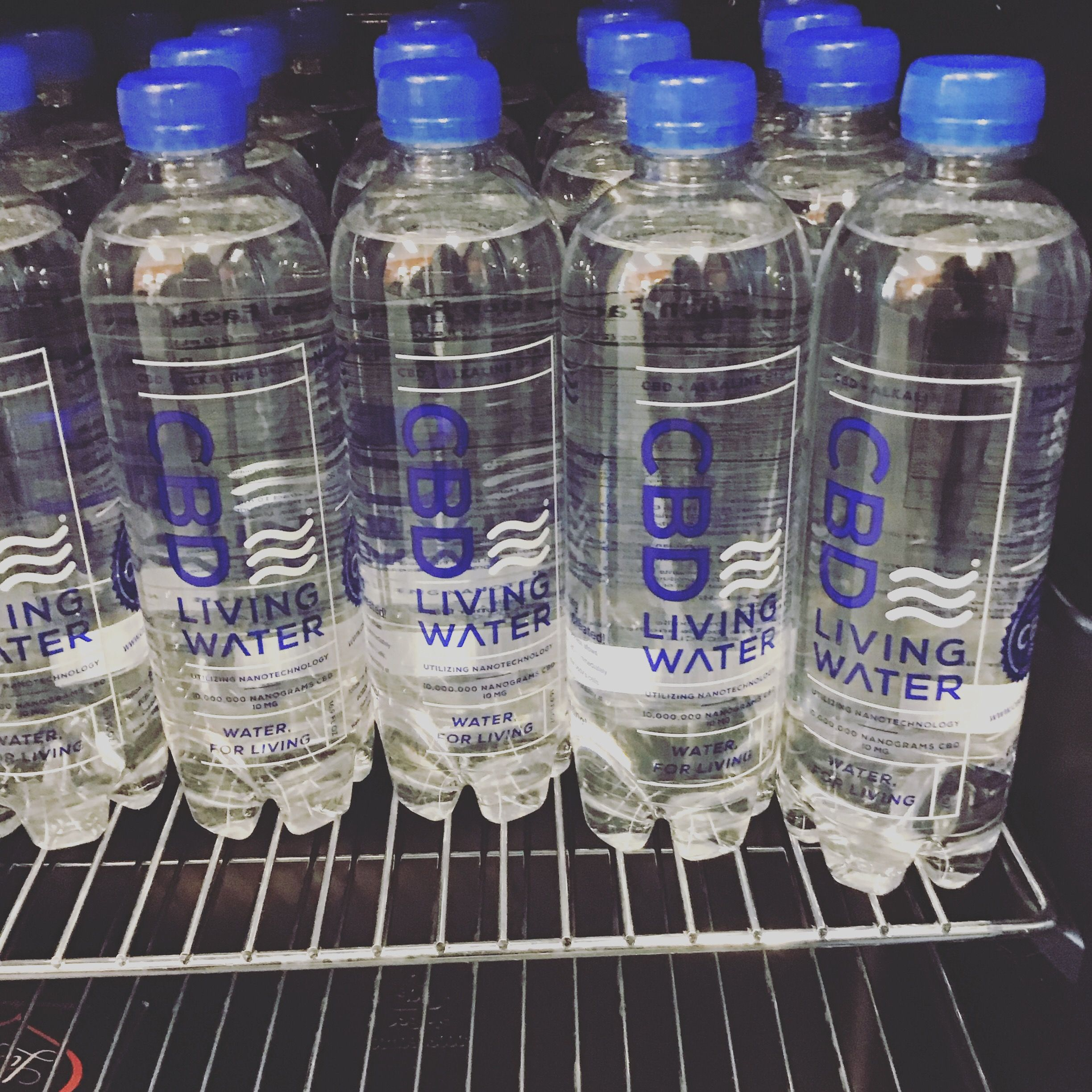 Cbd Living Water Living Water Ph Water Smart Water Bottle