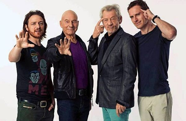 Original X Men Re Cast For Apocalypse Casting Storm Rogue Cyclops And Jean X Men Ian Mckellen Patrick Stewart
