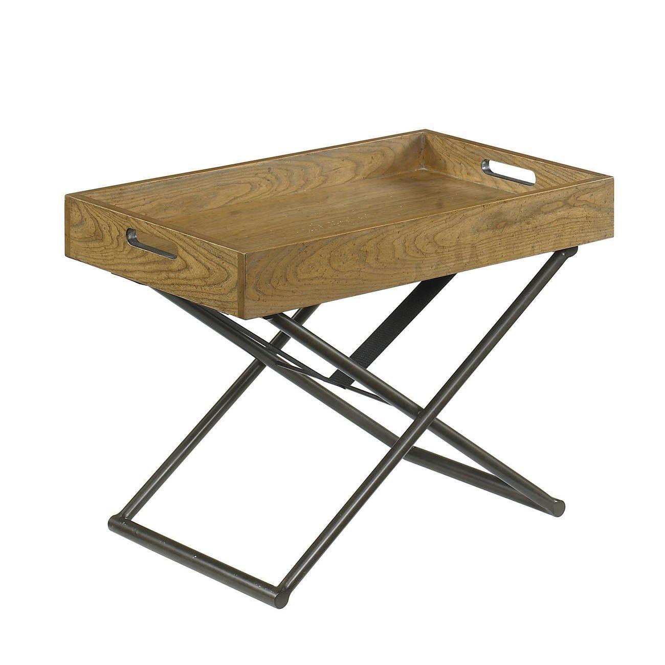 Hammary 090 317 Hidden Treasures Adjustable Tray Table