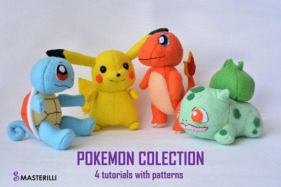 Pokemon toy sewing patterns kawaii pokemon collection pokemon gifts ...