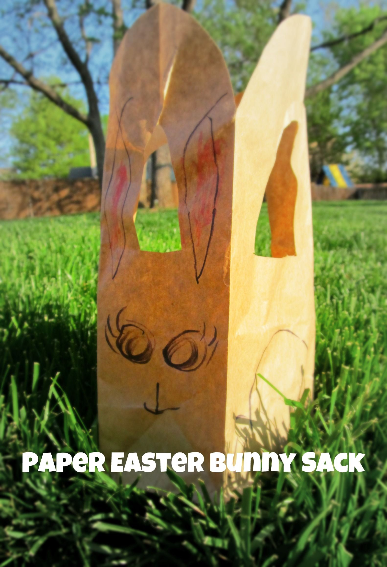 Quick cheap easter bunny gift bag thinkmagnetkids craft quick cheap easter bunny gift bag thinkmagnetkids negle Gallery