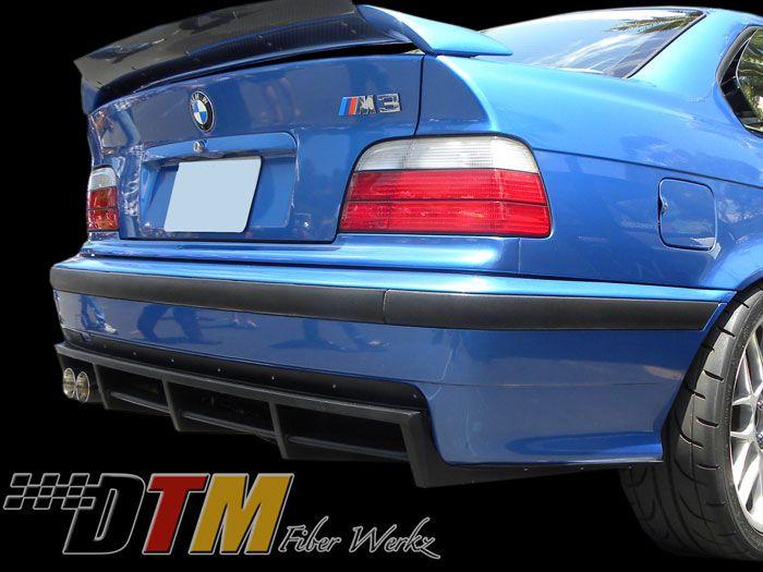 Bmw E36 M3 Dtm Rear Diffuser - E36m3dtm-rd - E36 Exterior - E36 - 3 Series - Bmw - by Dtmfiberwerkz