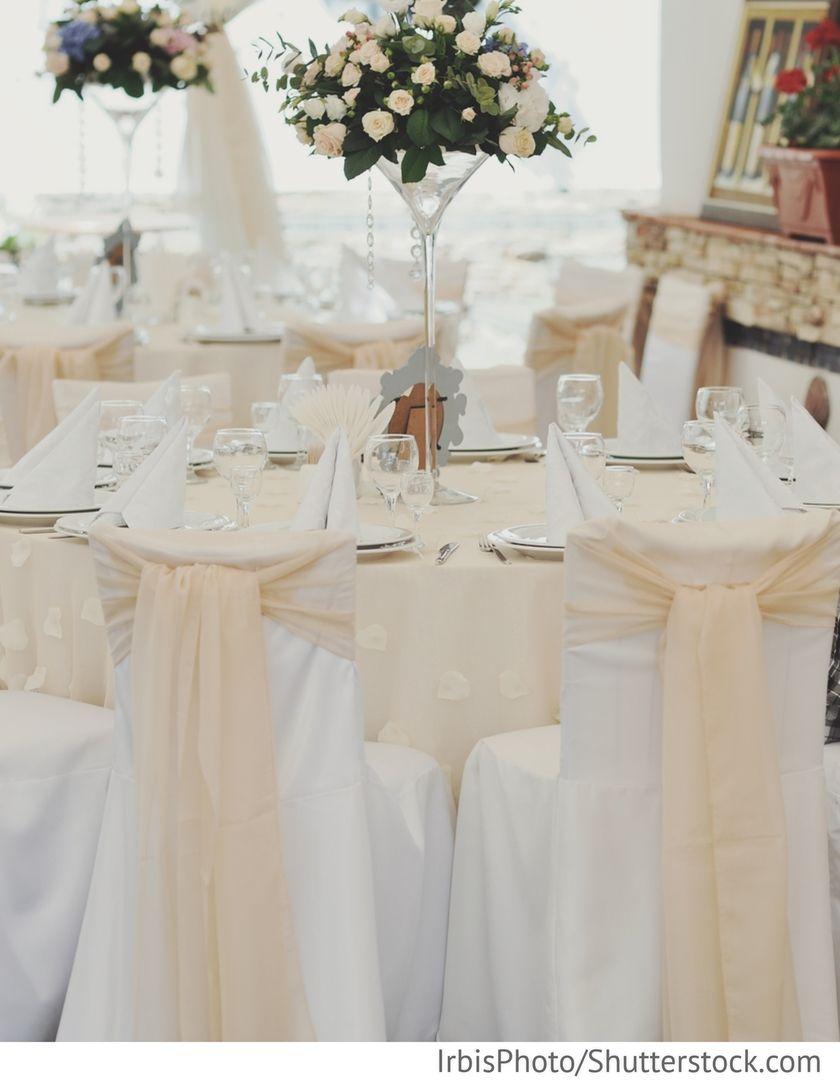Hochzeitsdekoration In Saal Festsaal Fur Hochzeit In 2018