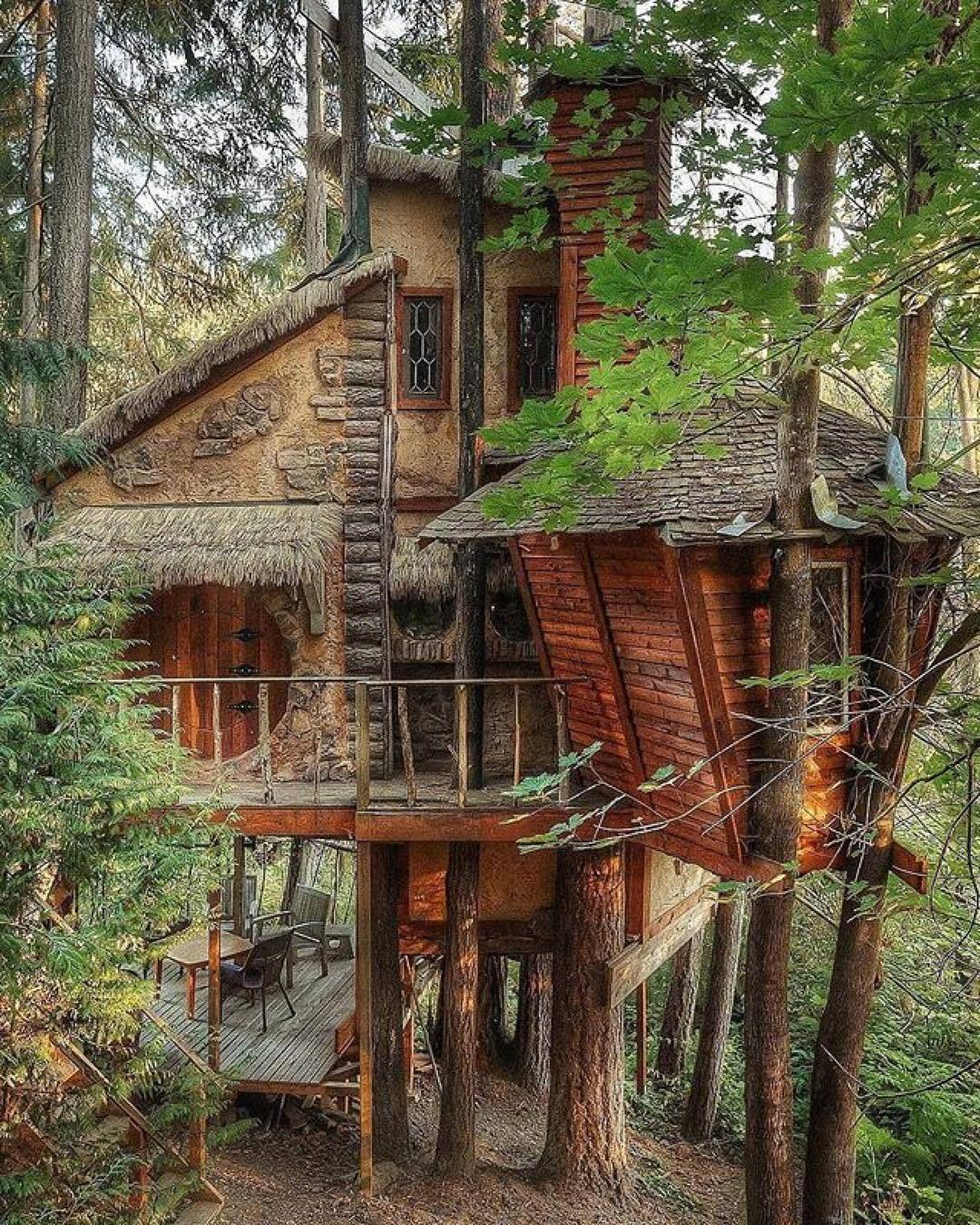 Mslovejoy tree houses pinterest tree houses