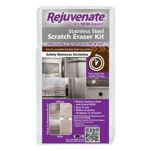 Rejuvenate Stainless Steel Scratch Eraser Kit Household