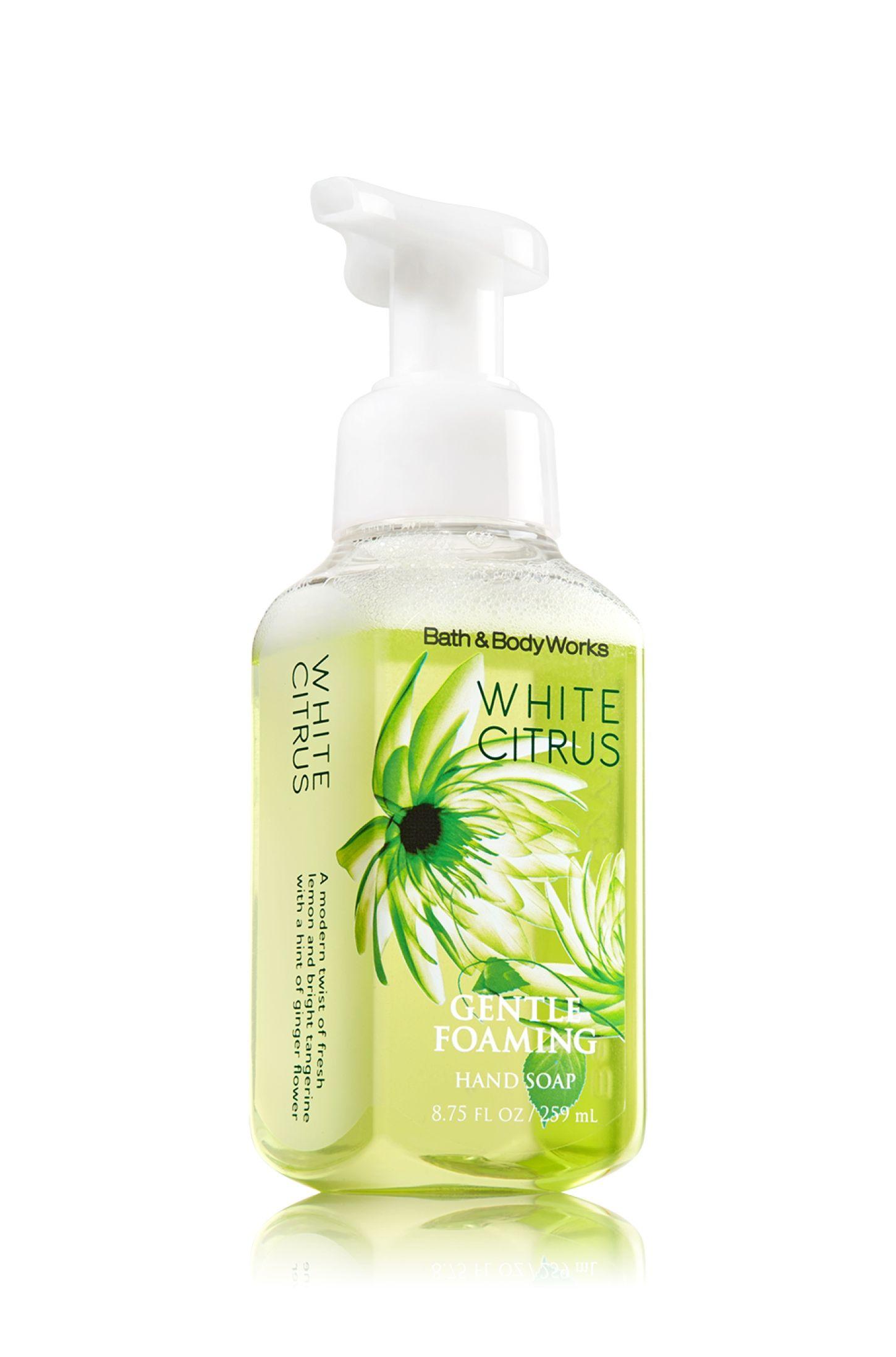 White Citrus Gentle Foaming Hand Soap Soap Sanitizer Bath