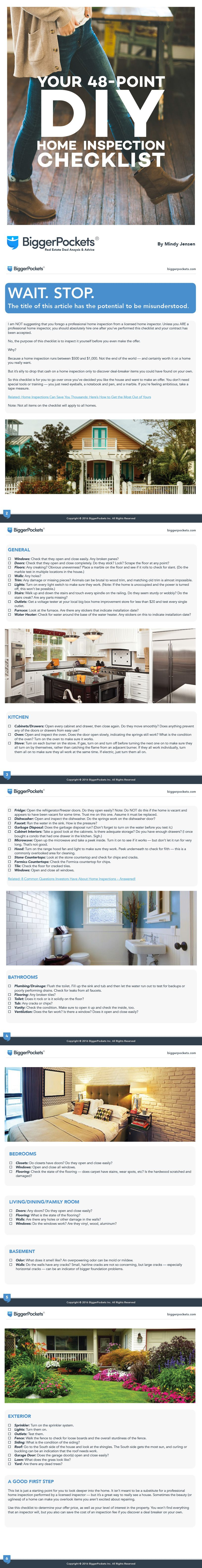 Diy Home Inspection Checklist How To Inspect Your New House Real Estate Home Inspection First Time Home Buyers