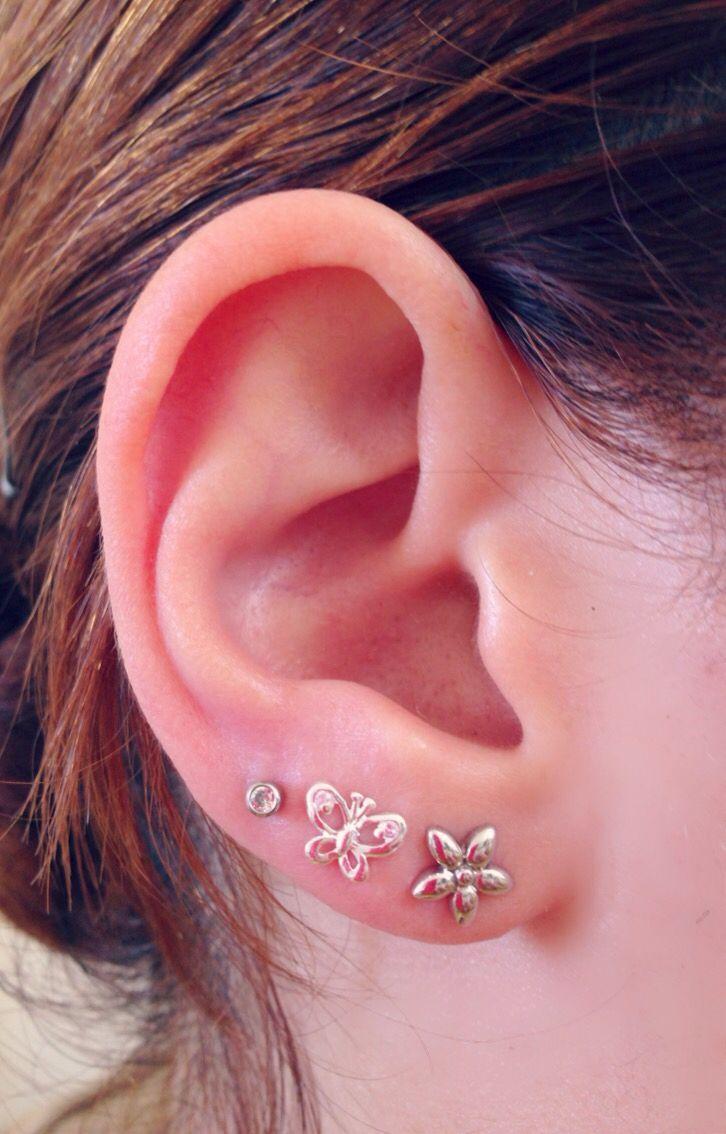 Triple Ear Lobe