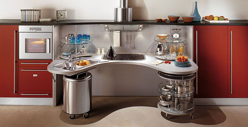 Muebles de cocina para personas en sillas de ruedas - via http://bit ...