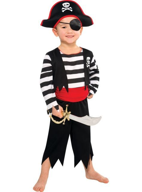 fe065a912bc58 Toddler Pirate Costume - Party City $9.99 | Disney cruise | Boys ...