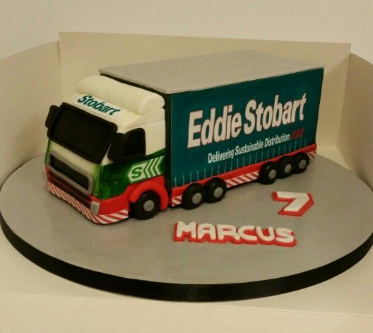 Lorry Cake Tutorial