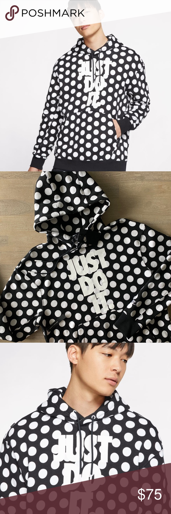Predownload: Nike Sportswear Jdi Polka Dot Pullover Hoodie Brand New With Tags Orders Are Shipped Within 1 Business Da Hoodie Brands Nike Sportswear Pullover Hoodie [ 1740 x 580 Pixel ]