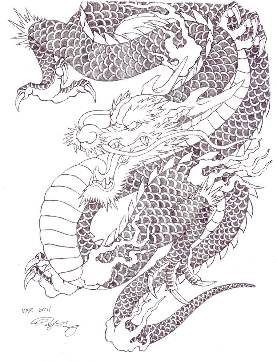 Japanese Tattoo Dragon By Zell381 On Deviantart Japanese Dragon Tattoo Japanese Tattoo Japanese Dragon Tattoos