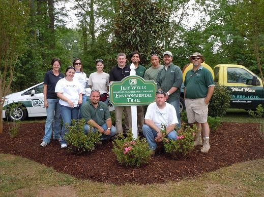 Planet 2012 Landscaping At The Jeff Wells Environmental Trail In Fuquay Varina Nc Community Service Projects Community Outreach Environment