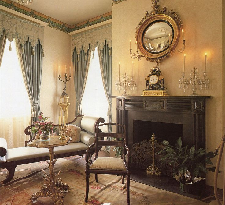 Victorian Sitting Rooms: Rosedown Plantation Sitting
