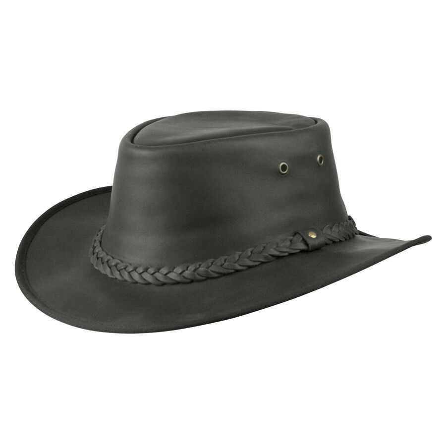 2a166449 We love the Jacaru Australia Kangaroo - Leather Australian Hat! It's the  perfect hat for fall clean-up or an Autumn hike! | Men's Hats | Leather  cowboy hats ...