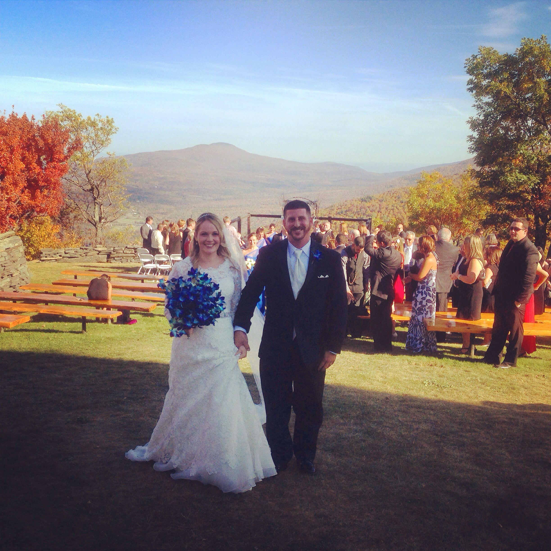 Hunter Mountain Top Wedding Ceremony Weddings Music Man