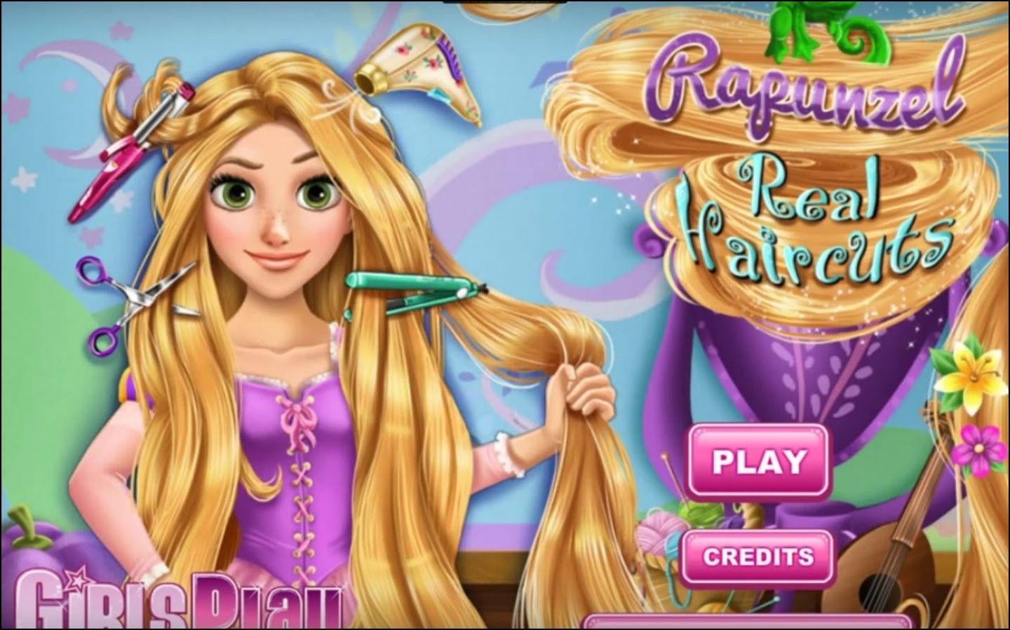 Hairstyles Games Beauteous Rapunzel Haircut Game  Hairstyles Ideas  Pinterest  Rapunzel And