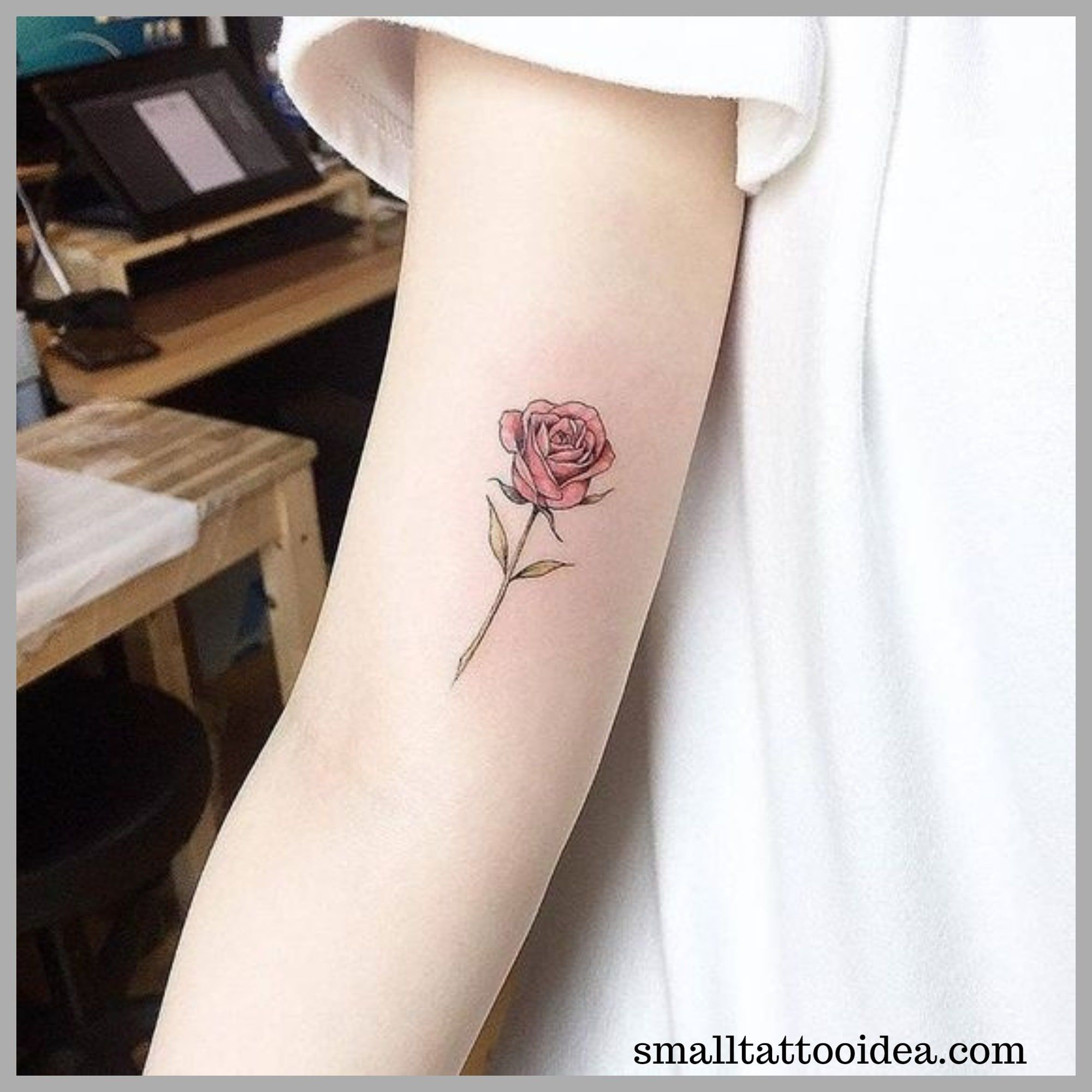 35 Small Red Rose Tattoo Ideas For Girls Tattoo Small Rose Tattoo Red Rose Tattoo Tiny Rose Tattoos