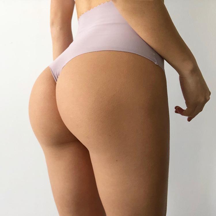 Women's High Waist Seamless Spandex Tummy Tuck Panties