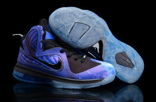 best service 527ad 14833 Nike Air Max LeBron James 9 Galaxy Basketball shoes