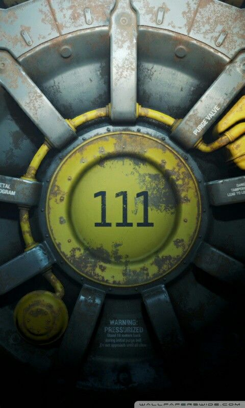 Fallout Vault 111 Mobile Wallpaper Fallout 4 Wallpapers Fallout Wallpaper Fallout Posters
