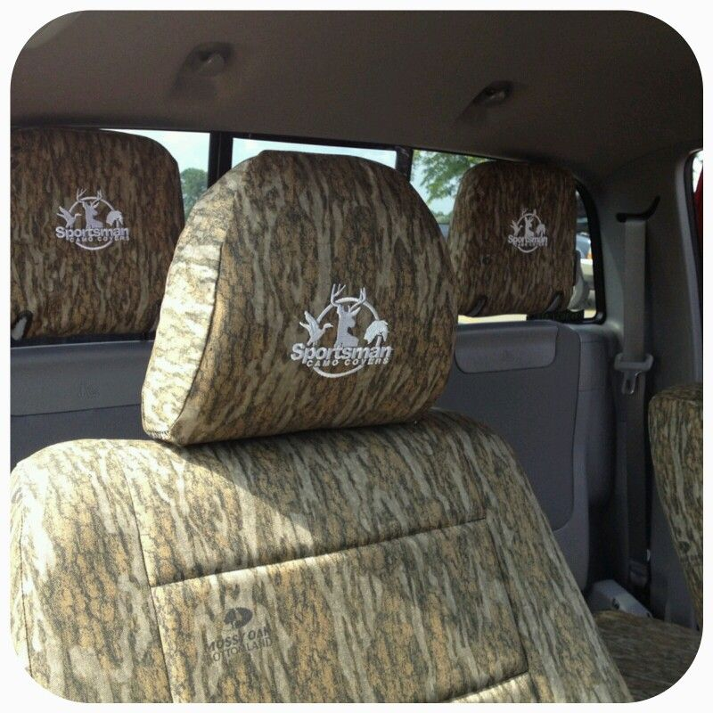 2004 Toyota Tacoma Seat Covers: 2015 Toyota Tacoma With Sportsman Camo Covers In Mossy Oak