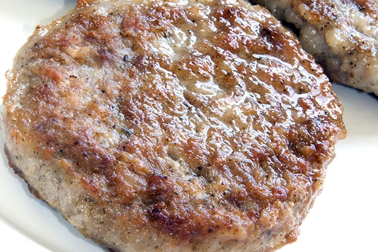 Recipe for turkey sausage patties - just lean ground turkey and spices