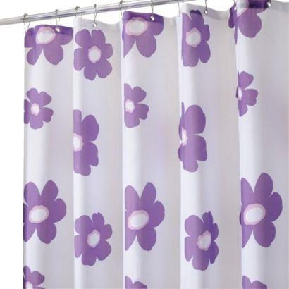 Http Www Target Com P Interdesign Poppy Shower Curtain Purple