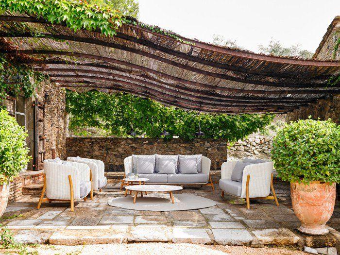 Garten Gestalten Ideen garten sitzecke - 99 ideen, wie sie ein outdoor wohnzimmer gestalten