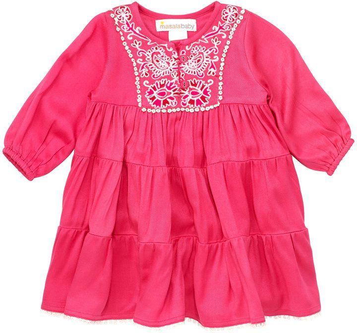 02b217e2ae858 Masala Baby Gypsy Rose Dress - Pink, Size 18-24m | Products ...