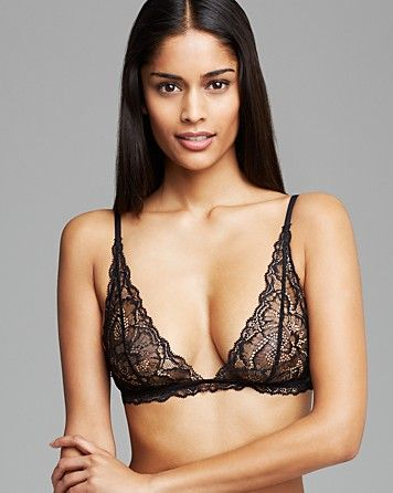 bfa0e98b4c6 Calvin Klein Underwear Black Label Unlined Wireless Triangle Bralette Bra   F3738