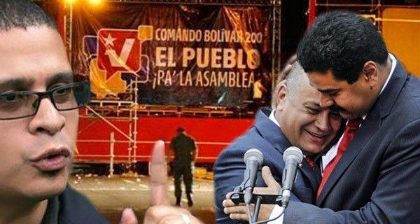 El politólogo y miembro del equipo nacional de Marea Socialista afirma que en la única conversación política que tuvo con Diosdado Cabello, este le aseguró